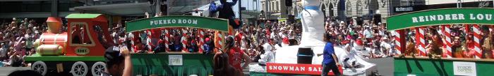 Santa Parade 2013