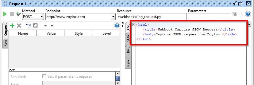 Send JSON requests to a VSTS service hook using SoapUI   Zoyinc