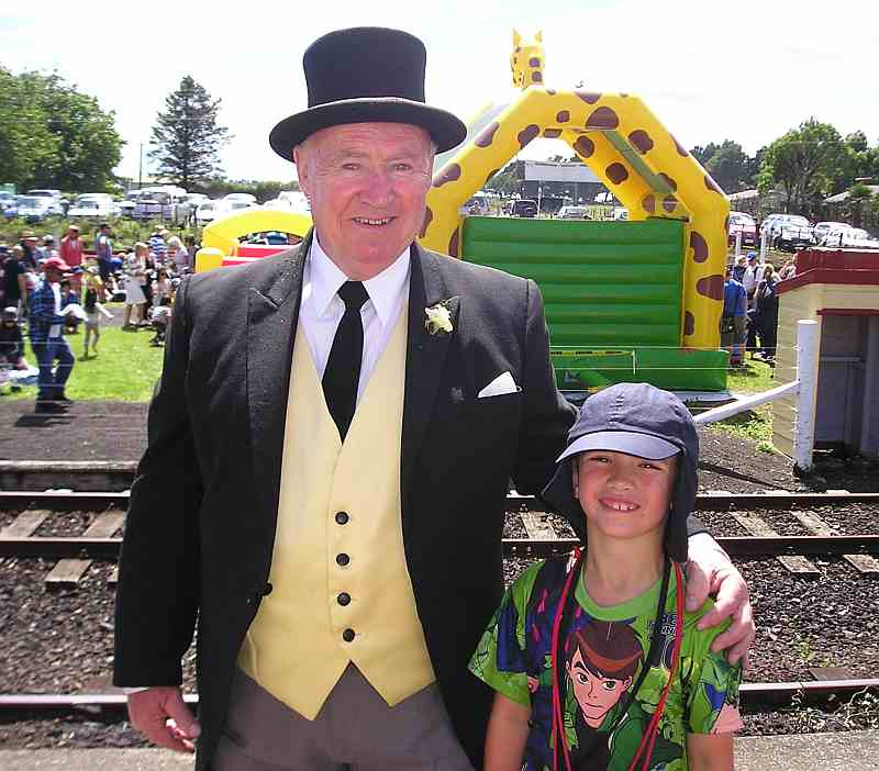 A photo with the fat controller is a must to keep